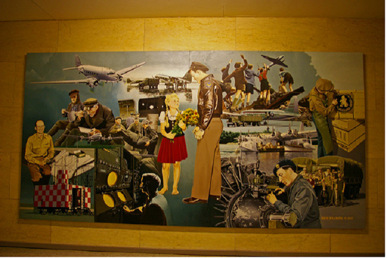 Berlin Airlift Mural