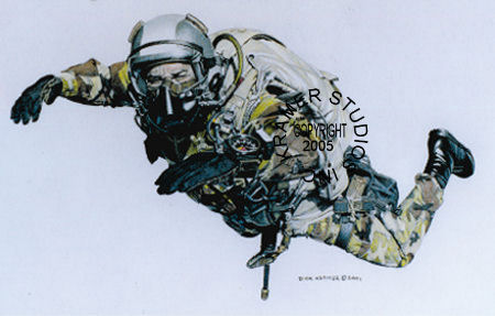 Quot Halo Quot Military Art Prints By Dick Kramer