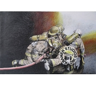LEXINGTON FIREFIGHTERS - ORIGINAL SOLD