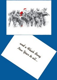 """SWAT CHRISTMAS CARDS"" (Print # 695)"