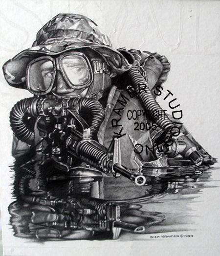 Quot Draeger Quot Military Art Prints By Dick Kramer