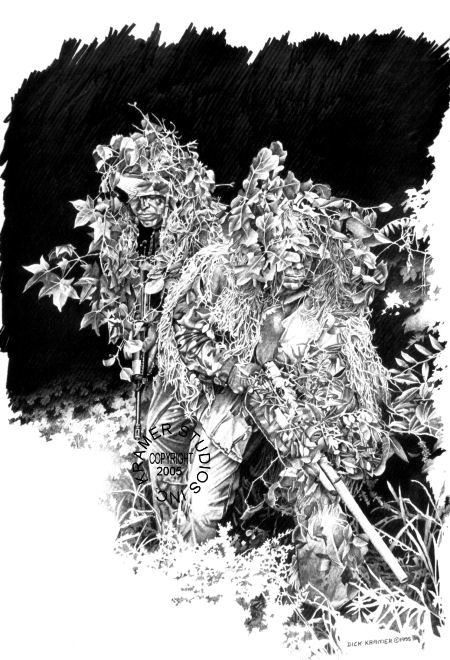 GHILLIE MAN