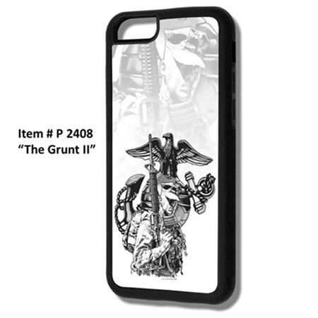 CELL PHONE CASE P2408 THE GRUNT W/EGA